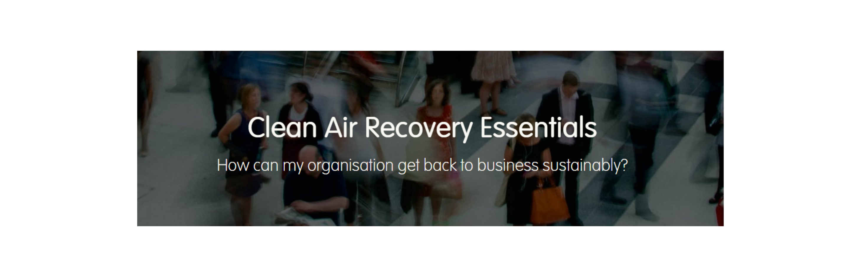 thumbnail of clean air recovery essentials