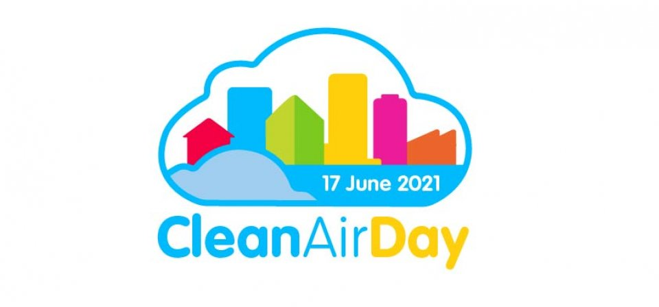 Save the date! Clean Air Day 2021 - 17 June