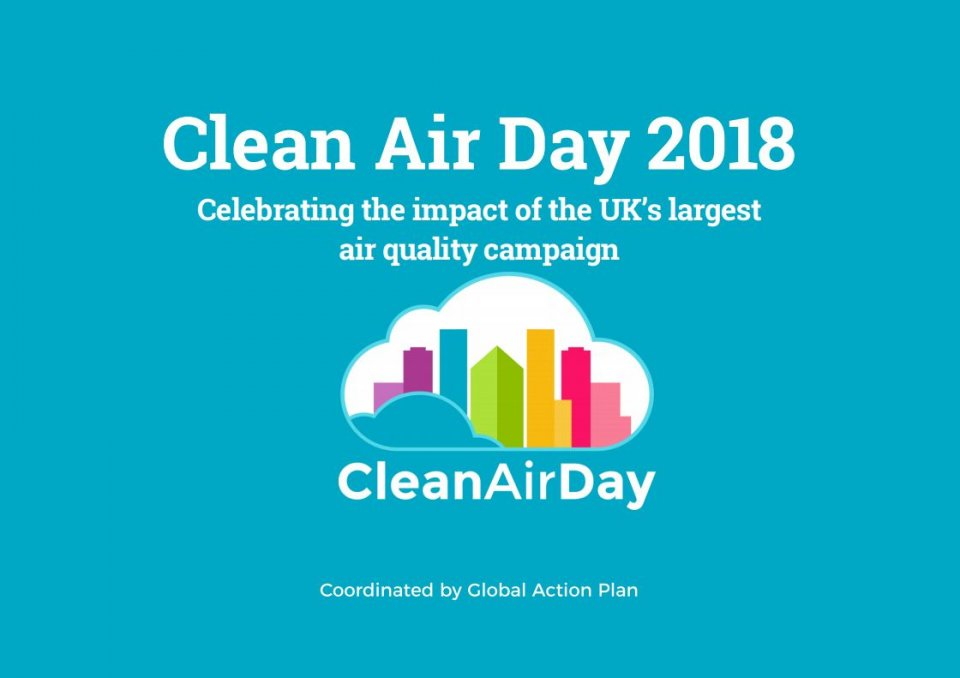What we achieved with Clean Air Day 2018 - read the full report