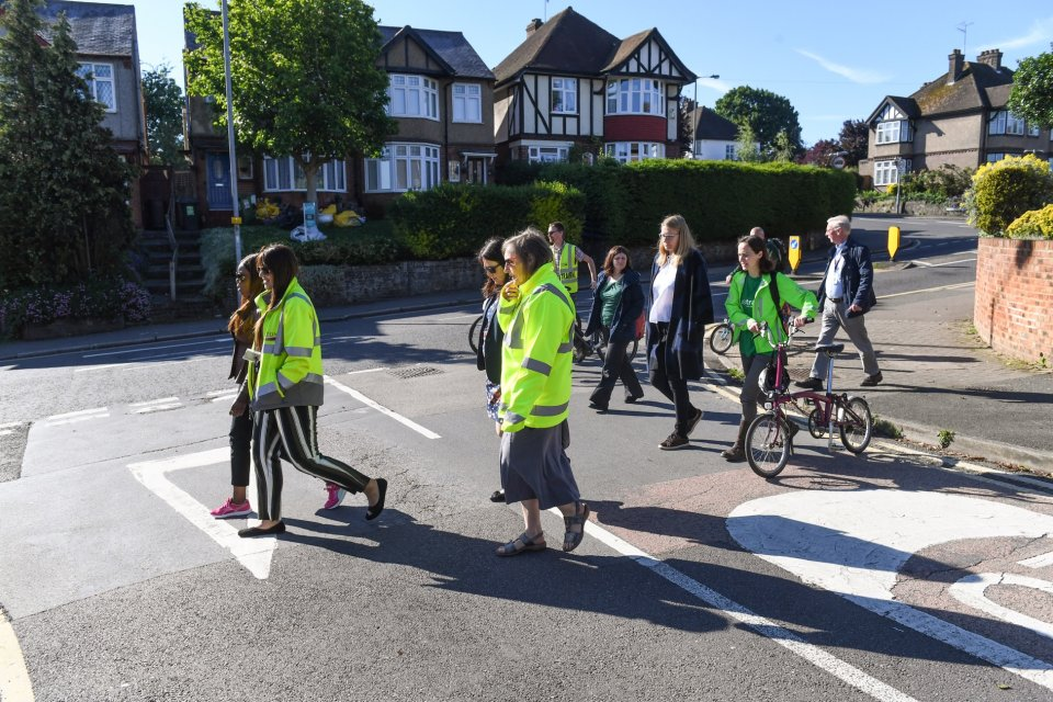 We set the challenge to keep air pollution levels down for Clean Air Day